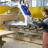 LOGO_Ergonomic handling of wooden sheets with vacuum lifting devices VacuMaster Basic/Comfort from Schmalz