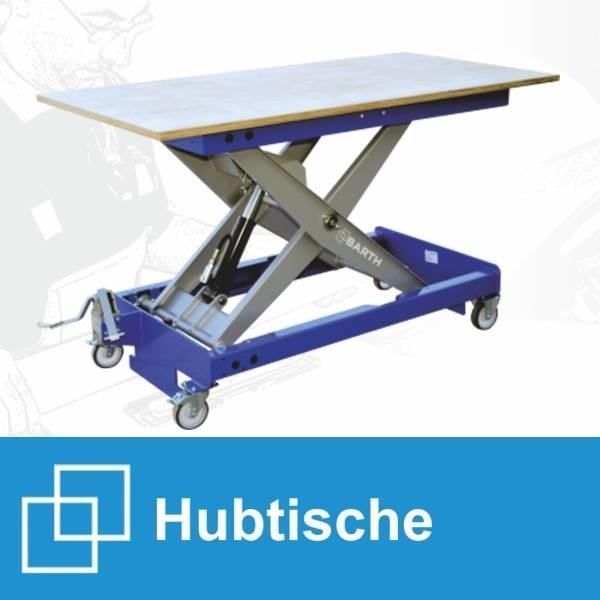 LOGO_Arbeits- und Transporttische mit 300 kg bzw. 500 kg Tragkraft