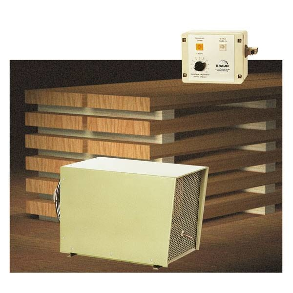 LOGO_The different way of drying timber-BRAUN Timber Dryers T1 and T2