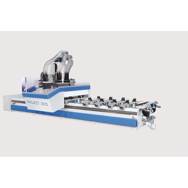LOGO_3- und 4-Achs gesteuertes CNC-Bearbeitungszentrum Typ PROJECT 350/450