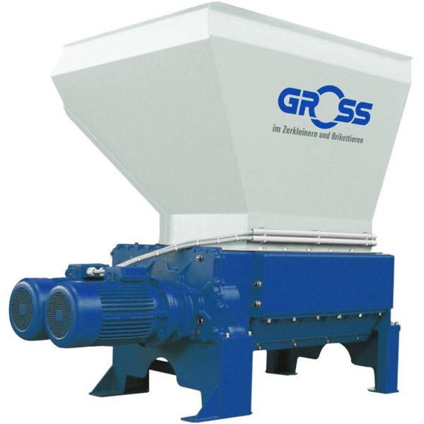 LOGO_GZ four-shaft shredder