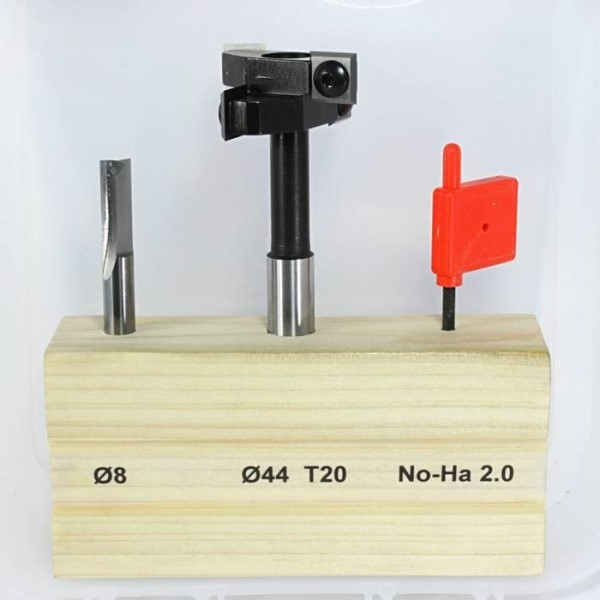 LOGO_SET OF 2 CUTTERS FOR NO-HA 2.0