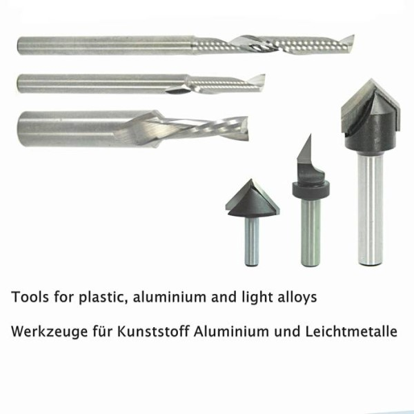 LOGO_TOOLS FOR PLASTIC, ALUMINIUM AND LIGHT ALLOYS