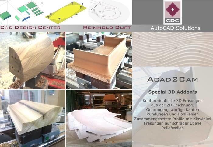 LOGO_Acad2Cam Spezial 3D Addon's