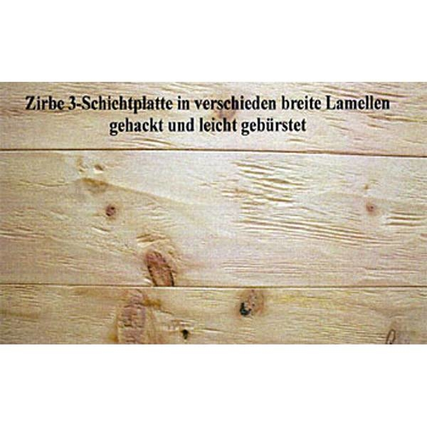 LOGO_3 Schichtplatten - Zirbe