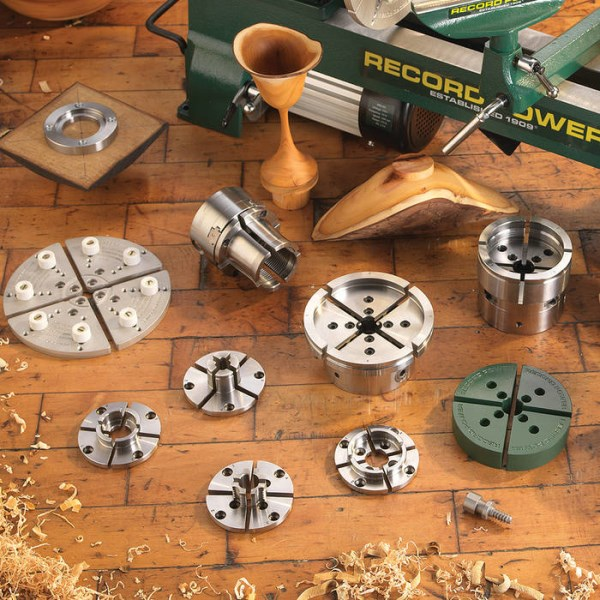 LOGO_Woodturning Chucks, Jaws and Accessories