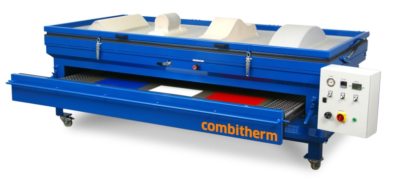 LOGO_COMBITHERM – the Multipurpose Heating and Forming Unit for all Thermoforming Materials