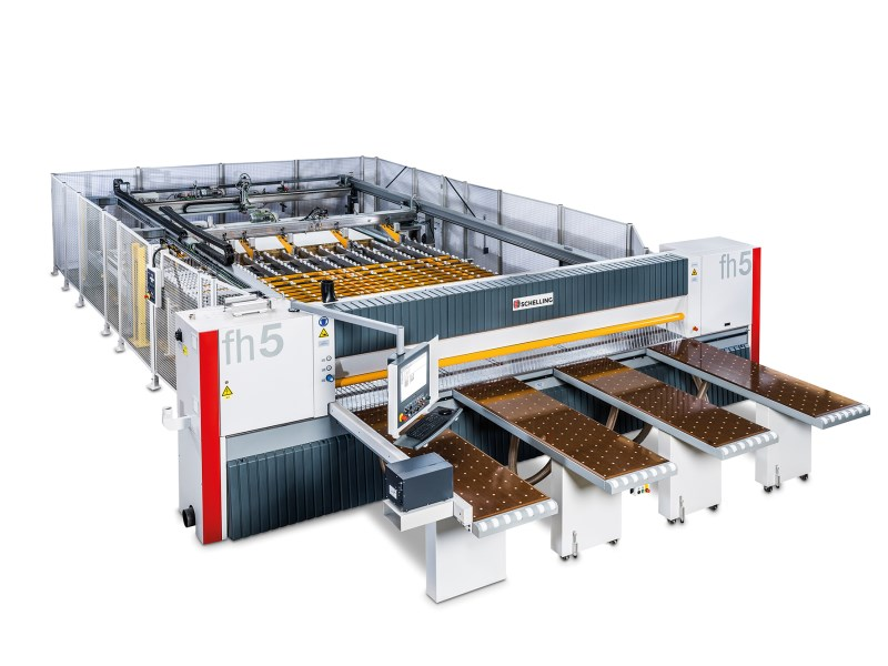 LOGO_fh 4 / fh 5 cut-to-size saw: Compact. Precise. Versatile