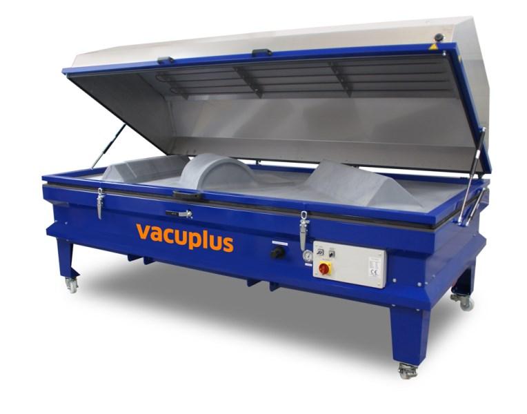 LOGO_VACUPLUS - die preiswerte und universelle Membranpresse zum Pressen, Verleimen, Beschichten und Formen von Werkstücken