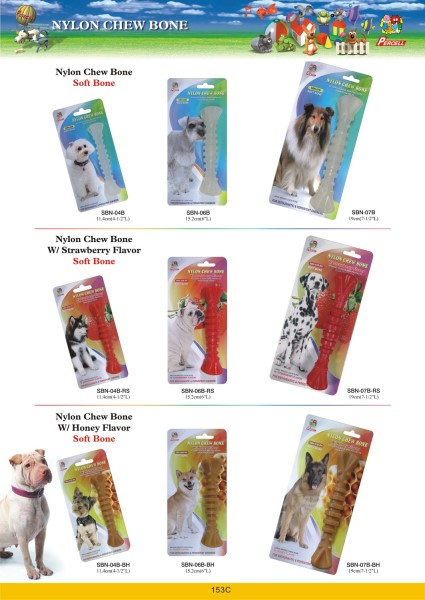 LOGO_Nylon Chew Bones for Dogs