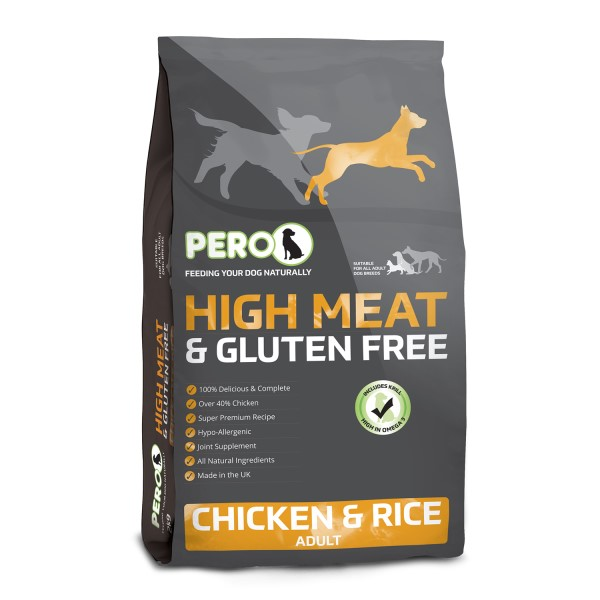 LOGO_High Meat & Gluten Free – Chicken & Rice