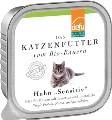 """LOGO_Katze Huhn """"Sensitiv"""" Pâté"""