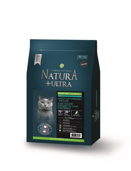 LOGO_DRY CAT FOOD GRAIN FREE FOR ADULT CAT STERILIZED - 2,5kg