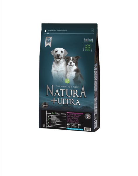 LOGO_DRY DOG FOOD LOW GRAIN ADULT LAMB AND RICE ALL BREEDS - 12kg