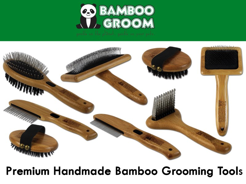 LOGO_Bamboo Groom combs + brushes
