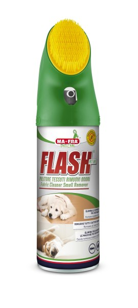 LOGO_FLASH -FABRIC CLEANER FOR PET