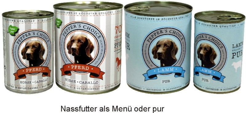 LOGO_Pepper's Choice canned dog food