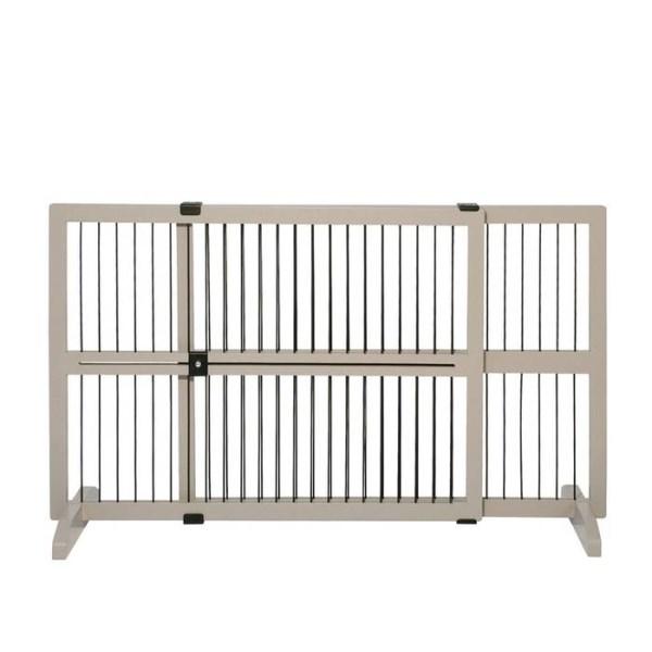 LOGO_Expandable Standing Pet Gate