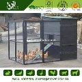 LOGO_High Quality upto 8 Hens Black Large Chicken Coop