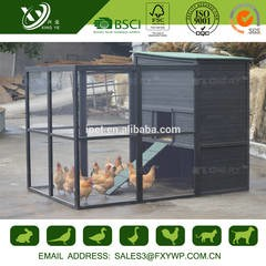 LOGO_High Quality upto 8 Hens Black Large Chicken Coop
