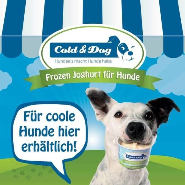 LOGO_Hundeeis Winteredition mit gebratener Hirsch & Himbeeren