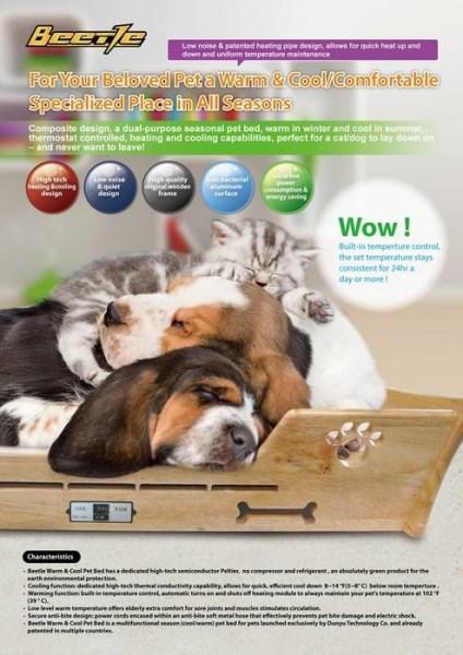 LOGO_Beetle Warm & Cool pet bed 1