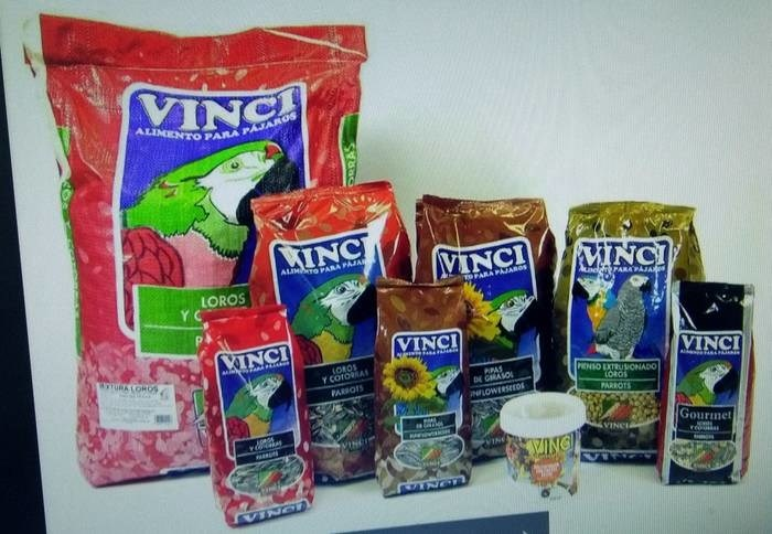 LOGO_DIFFERENT TYPES OF MIXTURES SPECIALLY CONCEIVED FOR BIRDS AND OTHER SMALL ANIMALS' FEEDING