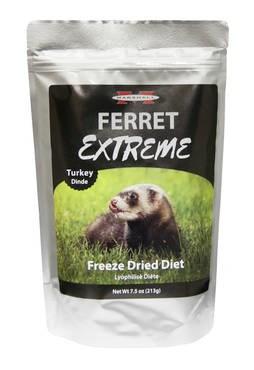 LOGO_Marshall Ferret Extreme Freeze Dried Diet, Turkey