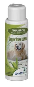 LOGO_GREEN WASH DERMA Regenerating skin shampoo with clay