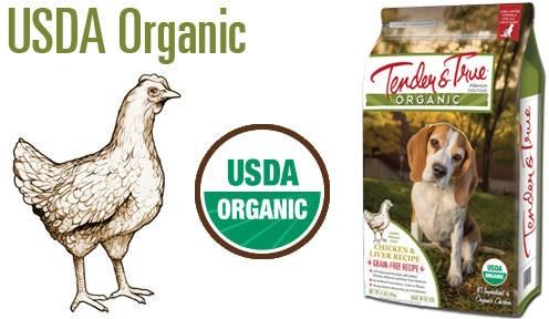 LOGO_Chicken & Liver Organic Dry Dog Food