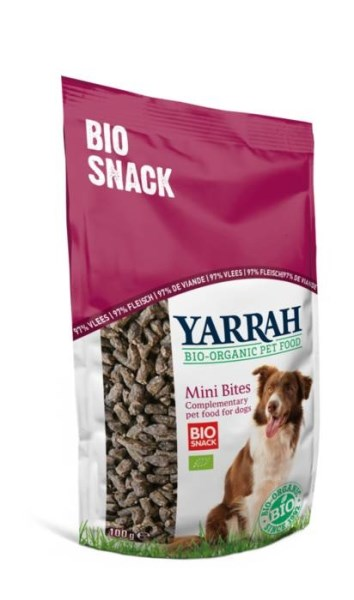LOGO_Organic Mini Bites dog snack