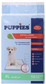 LOGO_PUPPIES PET TRAINING PADS Size XL 90/60 sm