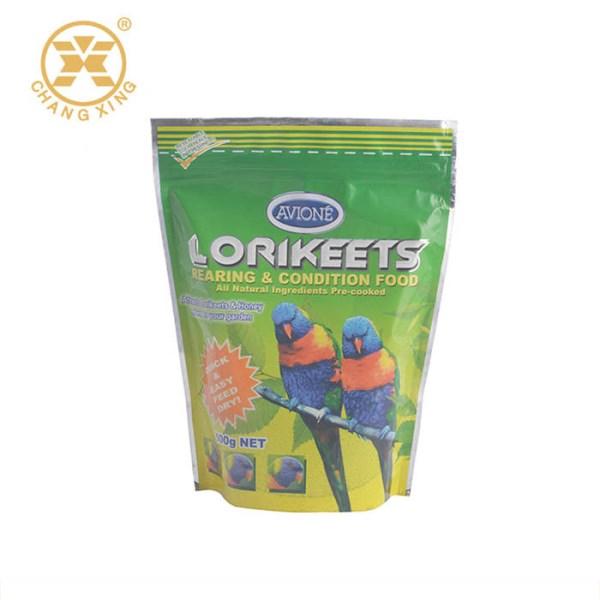 LOGO_5kg bird seeds food packing zip lock plastic bag