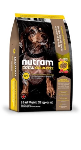 LOGO_T27 Nutram Total Grain-Free® Chicken & Turkey Dog Food