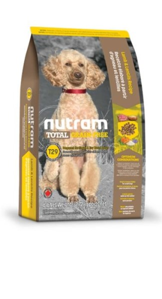 LOGO_T29 Nutram Total Grain-Free® Lamb and Lentils Recipe Dog Food