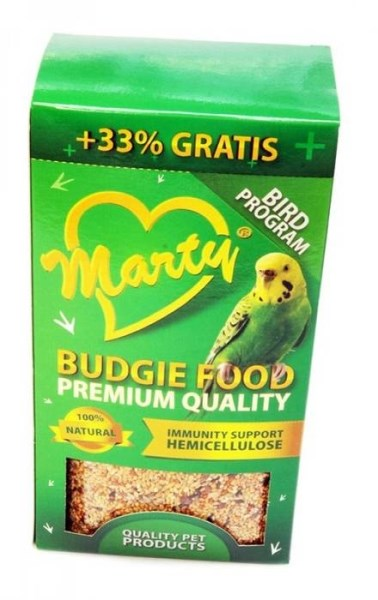 LOGO_MARTY Budgie Food