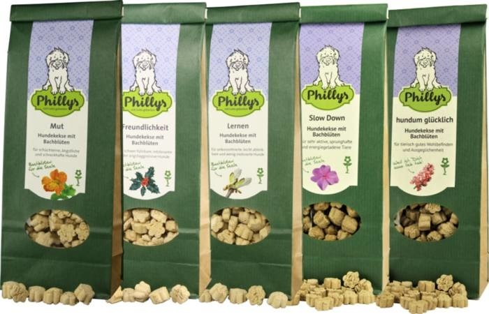 LOGO_coockies for dogs with flower essences - green series