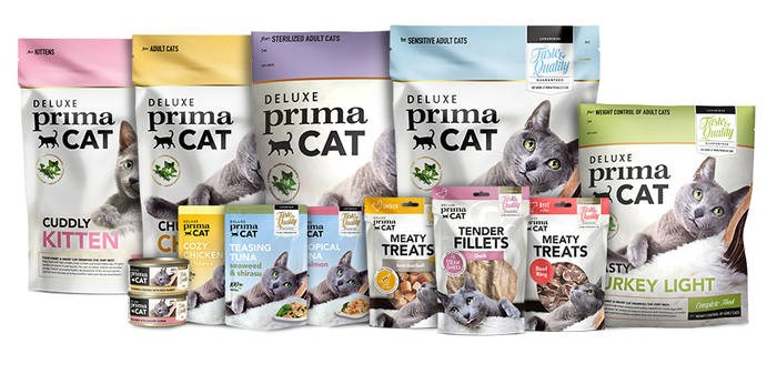 LOGO_PrimaCat | Cat food selection