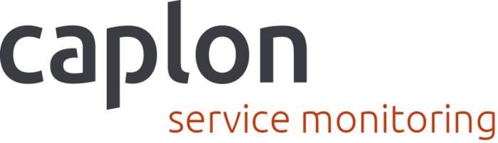LOGO_caplon© service monitoring- Probleme erkennen, bevor sie entstehen.