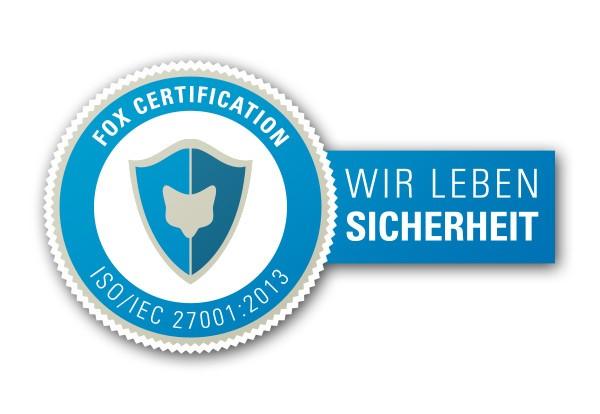 LOGO_Informationssicherheit durch eine Zertifizierung nach ISO/IEC 27001:2013