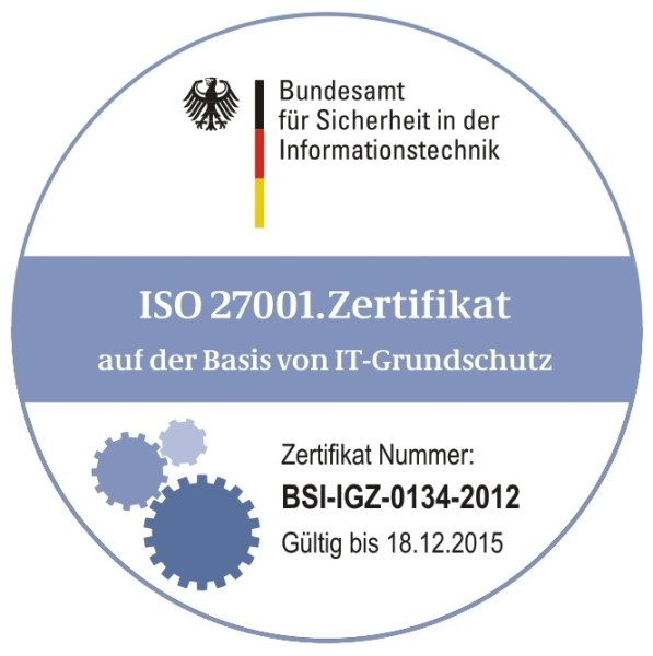 LOGO_BSI / ISO 27001-zertifizierte Cloud und Managed Services