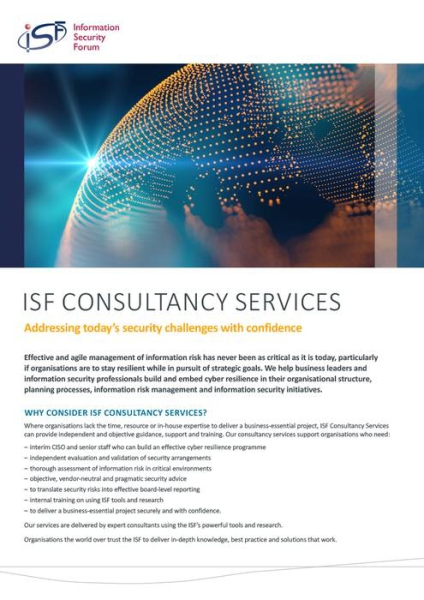LOGO_ISF Consultancy Services