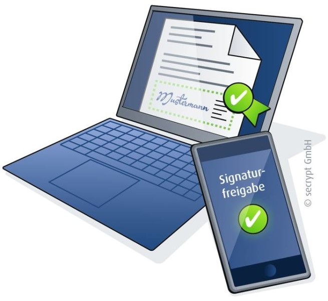 LOGO_Mobile signature: electronic signing using a smartphone