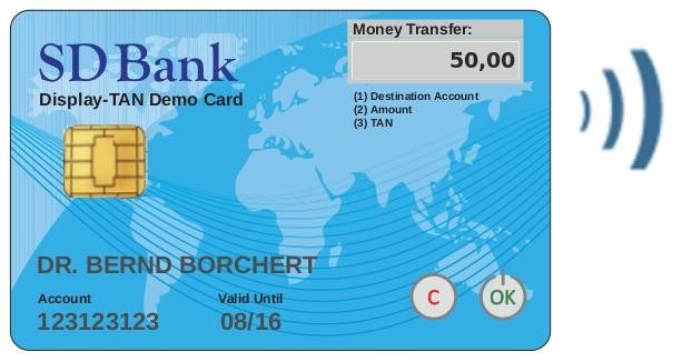 LOGO_Display-TAN - 2-Factor Mobile Banking - secure and mobile