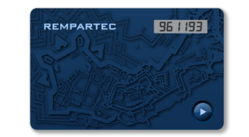 LOGO_Rempartec One-time Passcode Card RPT4005