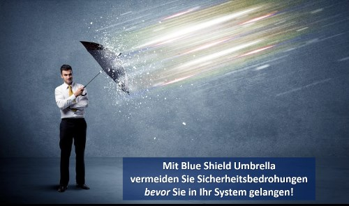 LOGO_Blue Shield Umbrella