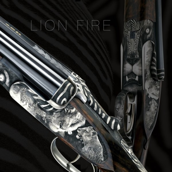 LOGO_Trompeter & Ritchi - Lion Fire by Johann Fanzoj Ferlach