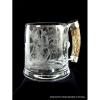 LOGO_Bierkrug Kristall mundgeblasen handgraviert