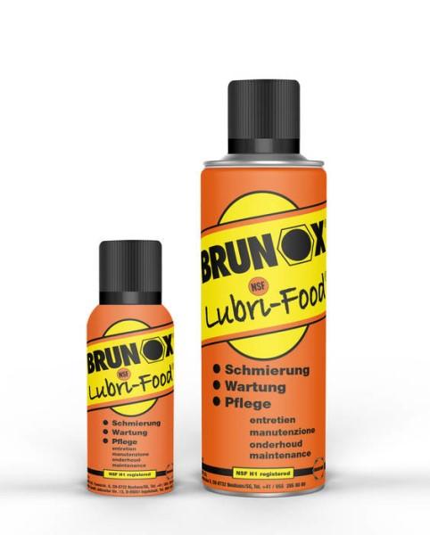 LOGO_BRUNOX® Lubri-Food® die  Messerpflege mit NSF H 1 von VICTORINOX® empfohlen