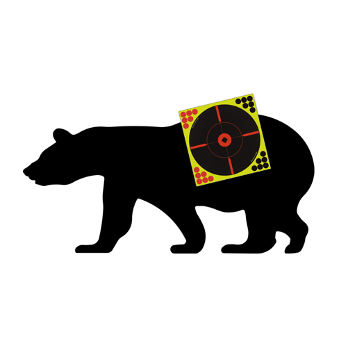 LOGO_Sharpshooter™ Corrugated Plastic Bear Silhouette